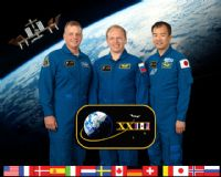International Space Station Expedition 23 Crew Portrait #1